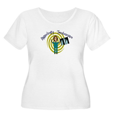 radiology Women's Plus Size Scoop Neck T-Shirt