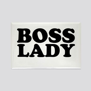 BOSS LADY Rectangle Magnet