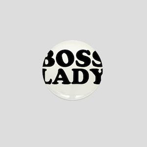 BOSS LADY Mini Button