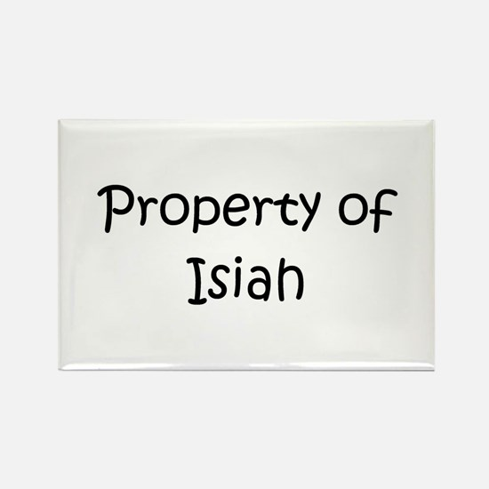 Cute Isiah name Rectangle Magnet