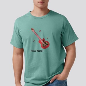 Personalized Red Leopard Guitar T-Shirt