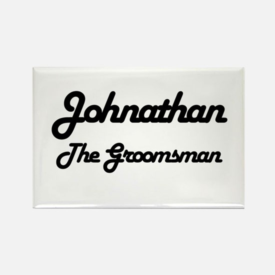Johnathan - The Groomsman Rectangle Magnet