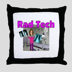 radiology Throw Pillow