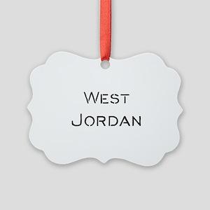 West Jordan Picture Ornament