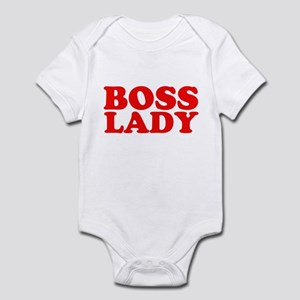 BOSS LADY RED Infant Bodysuit