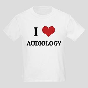 I Love Audiology Kids T-Shirt
