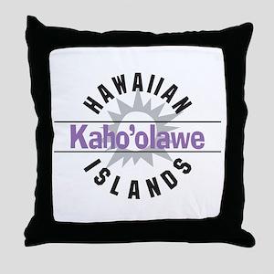 Kahoolawe Hawaii Throw Pillow