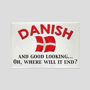Good Lkg Danish 2 Rectangle Magnet