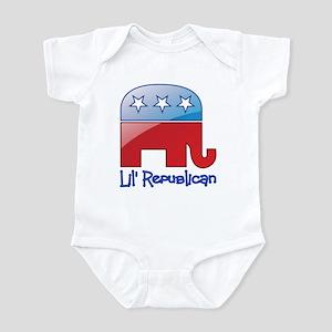 Lil Republican Red/Blue Infant Bodysuit
