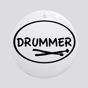 Drummer (oval) Ornament (Round)