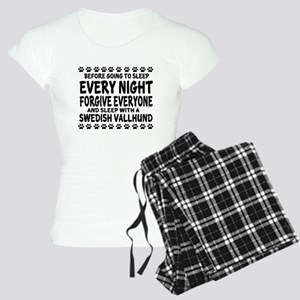 Swedish Vallhund Dog Design Women's Light Pajamas