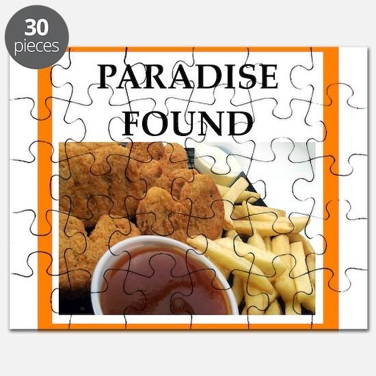 Chicken joke Puzzle