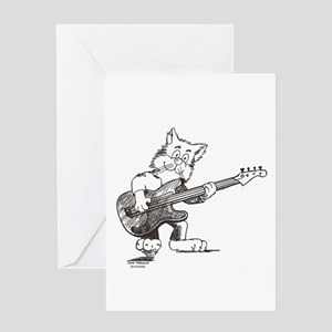 Catoons Greeting Card