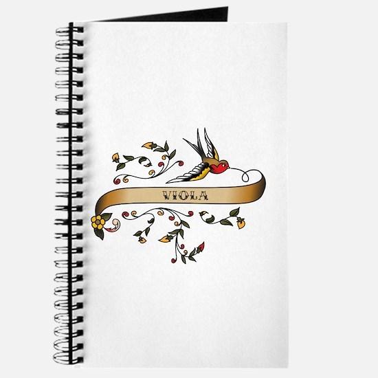 Viola Scroll Journal