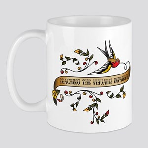Teaching the Visually Impaired Scroll Mug