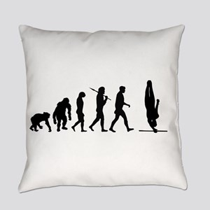 High Bar Gymnast Everyday Pillow