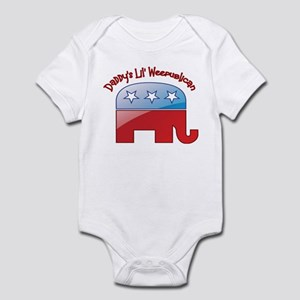 Daddy's Little Weepublican Infant Bodysuit