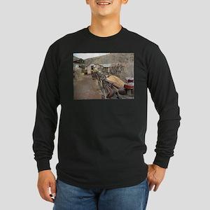 Ghost Town Lane Long Sleeve Dark T-Shirt