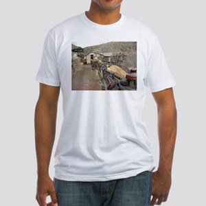 Ghost Town Lane Fitted T-Shirt