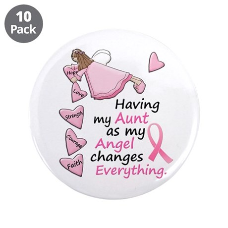 """My Angel 1 (Aunt BC) 3.5"""" Button (10 pack)"""