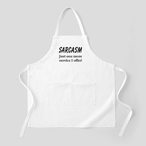 SARCASM BBQ Apron