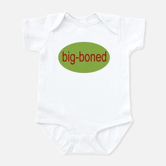 big boned, big-boned, chubby Infant Creeper