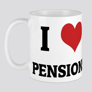 I Love Pensions Mug