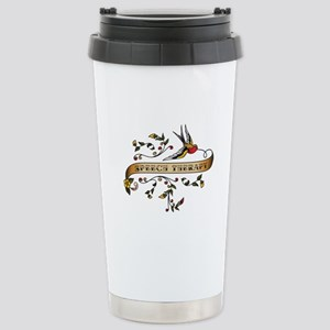 Speech Therapy Scroll Stainless Steel Travel Mug