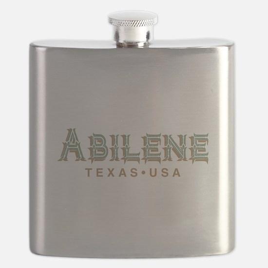 Retro Abilene Flask