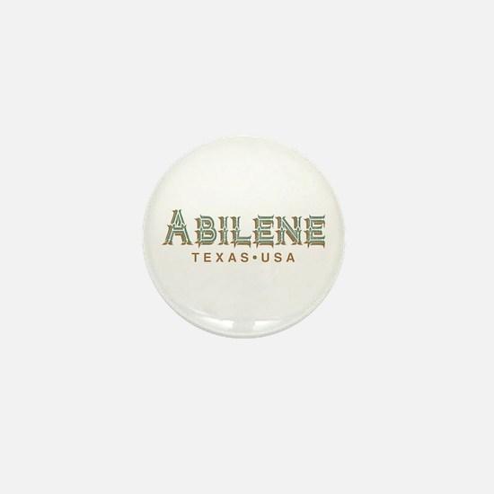Retro Abilene Mini Button