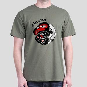 Alaska Design Dark T-Shirt