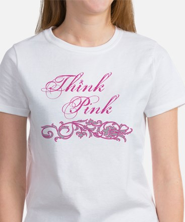 Think Pink Women's T-Shirt