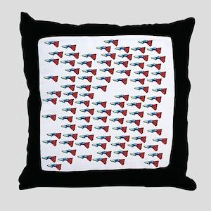 Guppy Guppy Guppy Throw Pillow