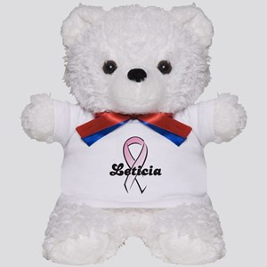 Leticia Pink Ribbon Teddy Bear