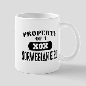 Property of a Norwegian Girl Mug