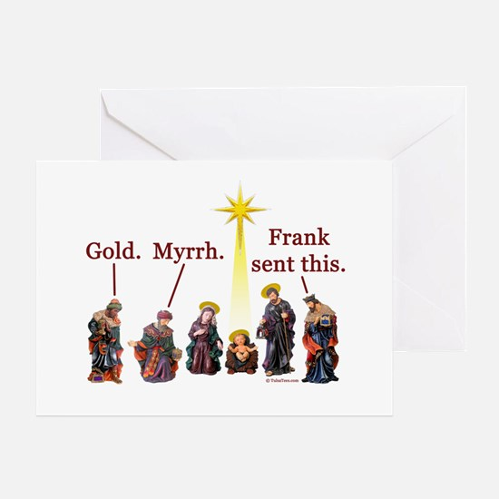 Frank Sent This Greeting Card