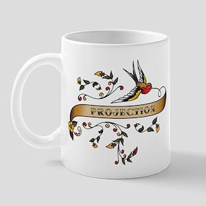 Projection Scroll Mug