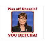 Sarah Palin You Betcha Small Poster