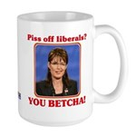 Sarah Palin You Betcha Large Mug