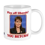 Sarah Palin You Betcha Mug