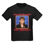 Sarah Palin You Betcha Kids Dark T-Shirt