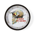 Dead by Dawn Wall Clock