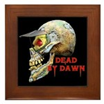 Dead by Dawn Framed Tile