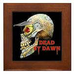 Dead by Dawn Framed Tile