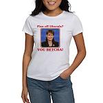 Sarah Palin You Betcha Women's T-Shirt