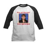 Sarah Palin You Betcha Kids Baseball Jersey