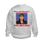 Sarah Palin You Betcha Kids Sweatshirt