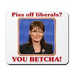 Sarah Palin You Betcha Mousepad