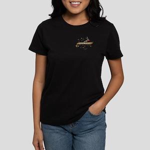 Postal Service Scroll Women's Dark T-Shirt