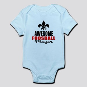 Awesome Foosball Player Infant Bodysuit
